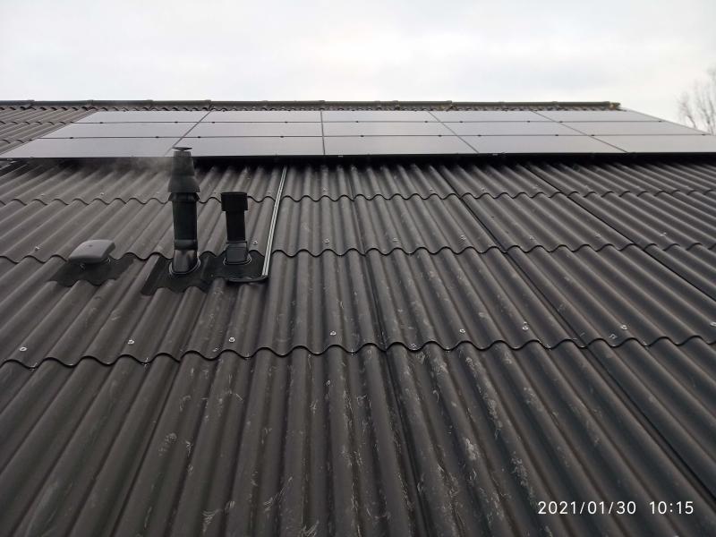 15 x 360 Wp Aurtarco zonnepanelen installatie met kWh-garantie