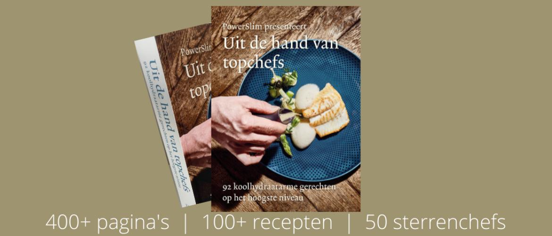 Nieuw: Koffietafel kookboek met 100+ recepten van 50 sterrenchefs