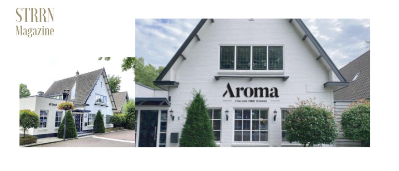 Restaurant Aroma Italian fine dining opent in voormalige pand van De Leest***
