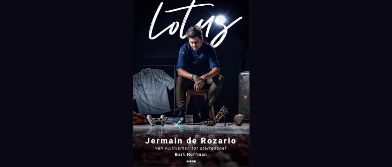Nieuw boek Lotus van topchef Jermain de Rozario - Van vuilnisman tot sterrenchef