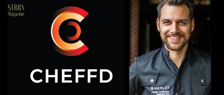 Topchef Jonathan Zandbergen start online culinair platform CHEFFD