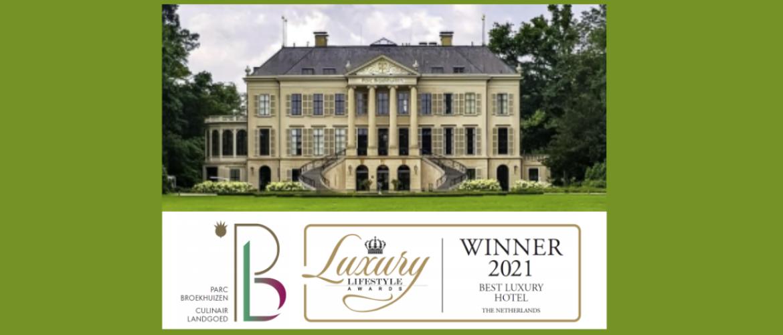 Culinair Landgoed Parc Broekhuizen Beste Luxury Lifestyle Hotel 2021