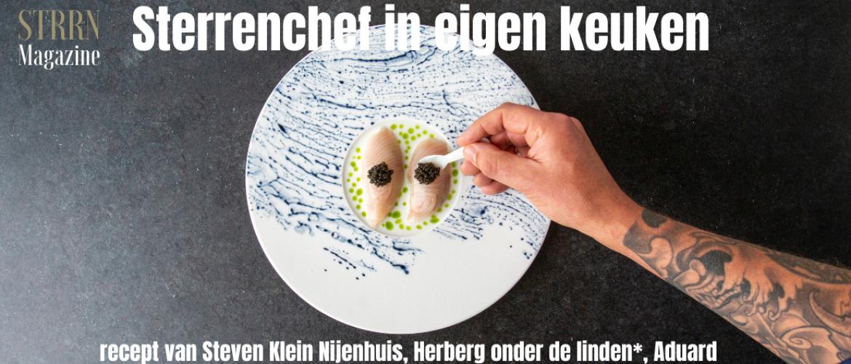 Sterrenchef in eigen keuken – recept van Steven Klein Nijenhuis, Herberg onder de linden*, Aduard