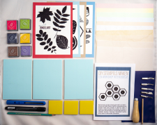 XL starters set zelf stempels maken thuis workshop