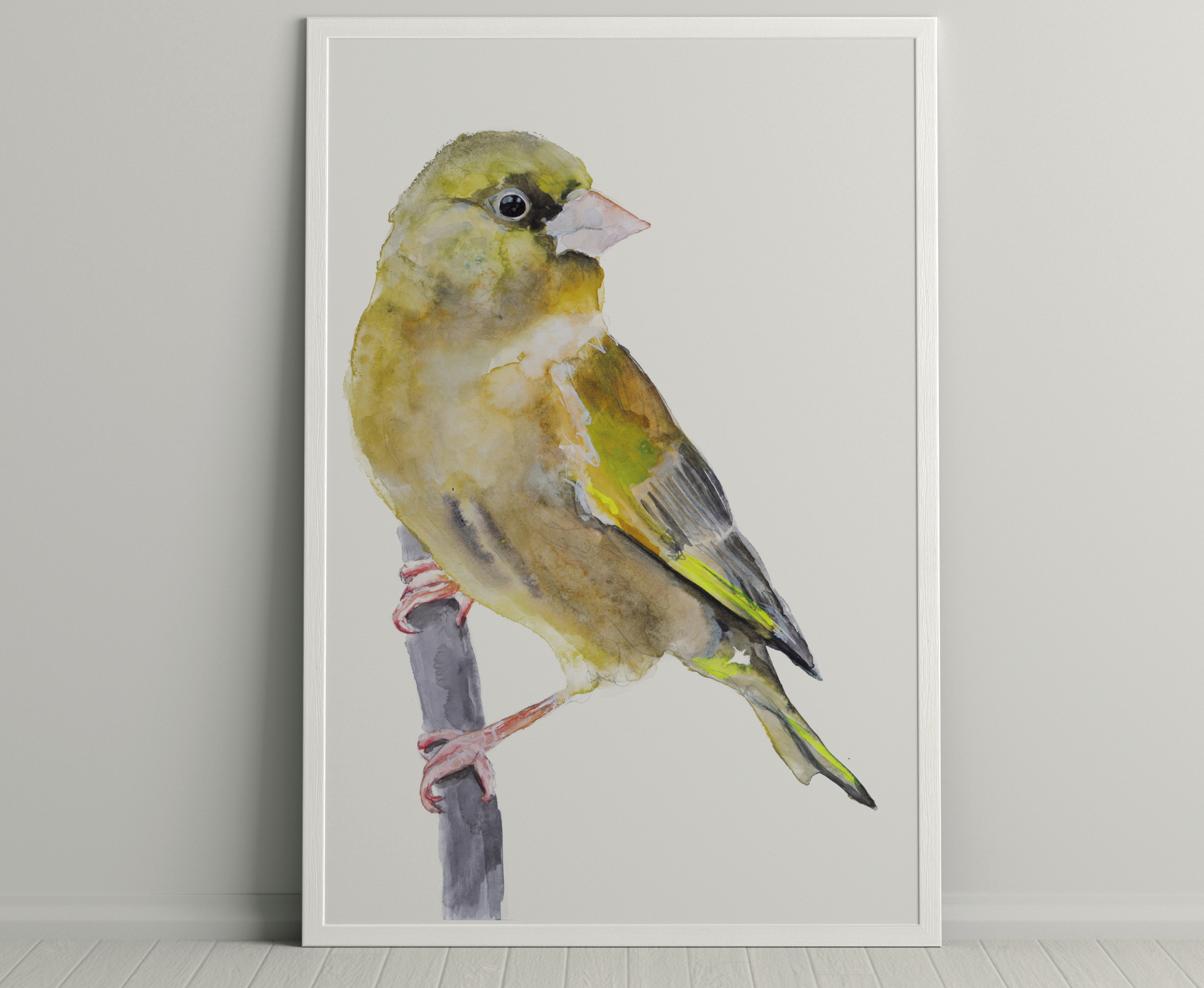 vogel illustratie aquarelverf