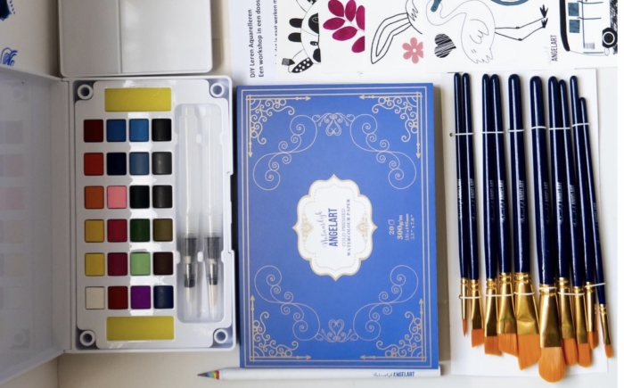 aquarel workshop pakket