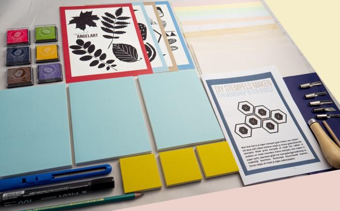 creatieve thuis workshop pakketten