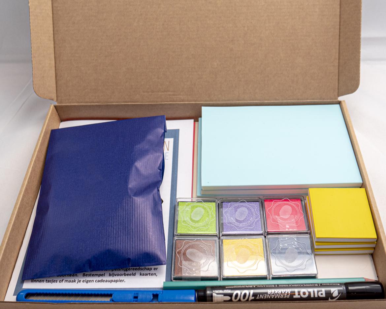 een workshop in een doosje