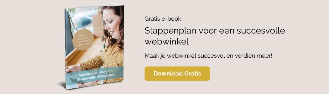 stappenplan voor een succesvolle webwinkel