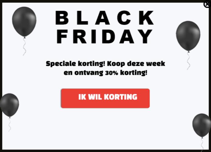 300% meer verkopen tijdens Black Friday? Dat kun jij ook!