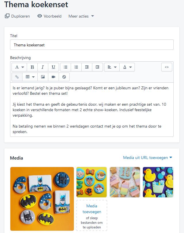 Een Shopify webshop in 7 stappen