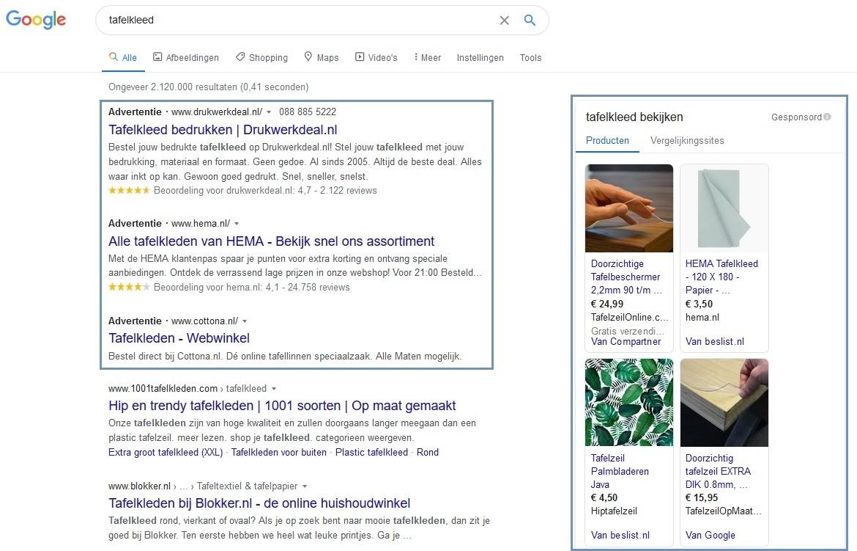 Zoekmachine marketing: SEO of SEA?
