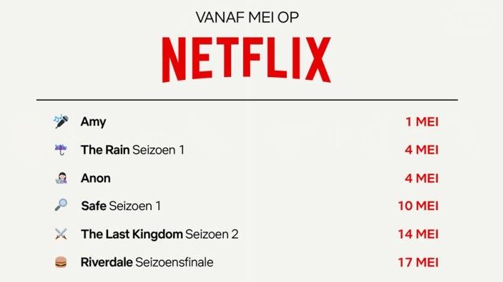 Netflix communiceert het genre 🕵 van nieuwe series via emoticons