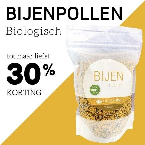 Biologische bijenpollen SuperfoodMe