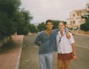 cintha en tomas op Mallorca 1995
