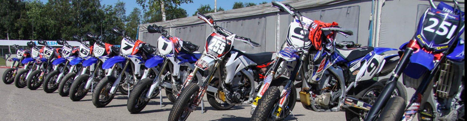 Yamaha WR450 Supermotorschool Motoren