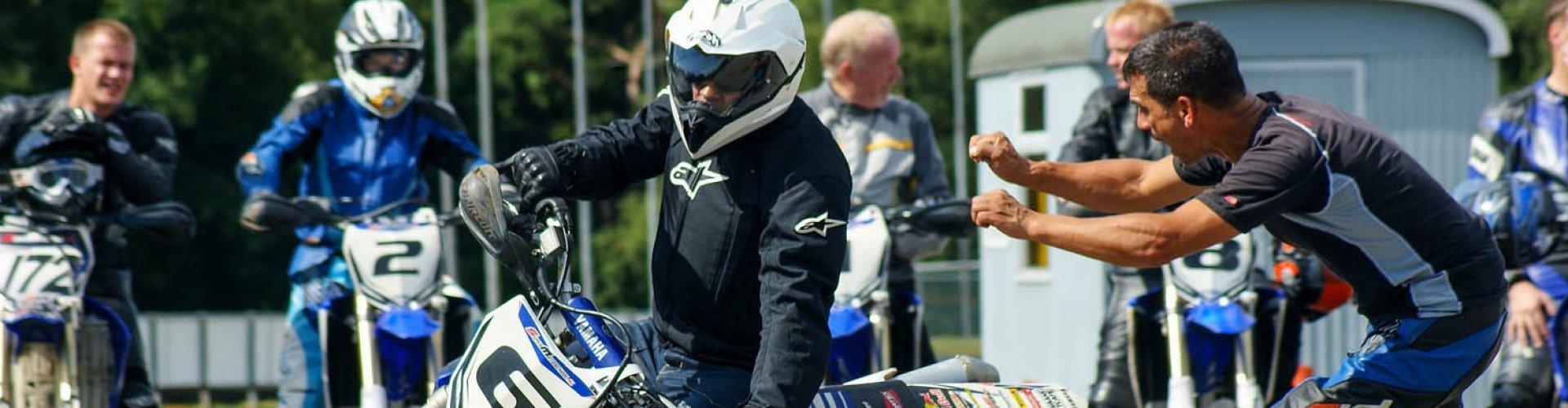 Cadeau moto circuit inclusief Yamaha WR450 huur motor