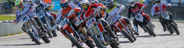 Supermoto Circuit Training op het Midland Circuit in Lelystad