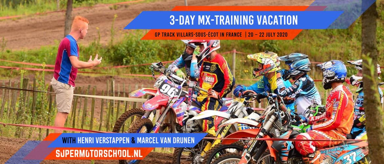 3-daagse MX-trainingsvakantie 2020