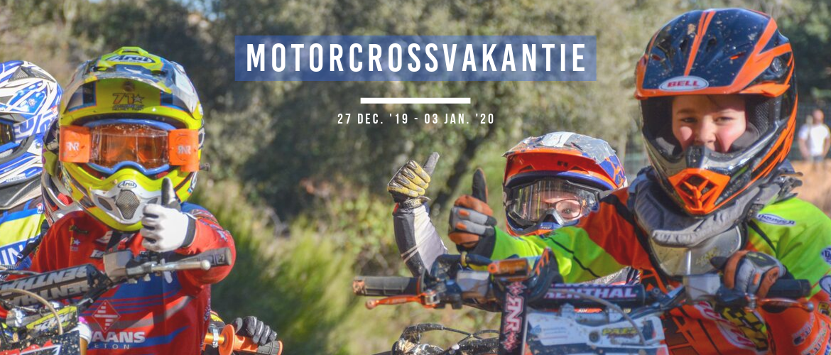 Motorcrossvakantie: MX training in Spanje
