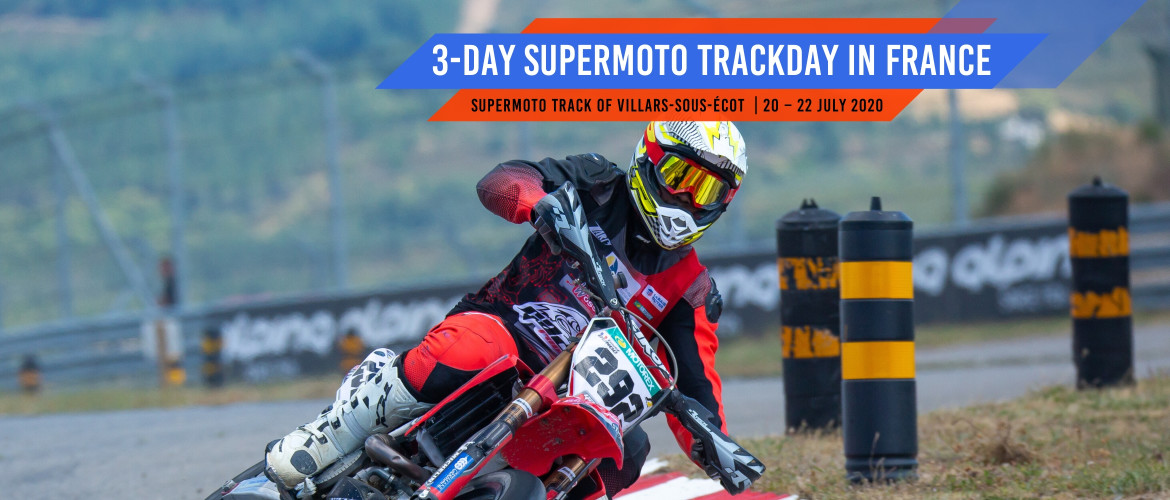 3-day Supermoto Track Training in France