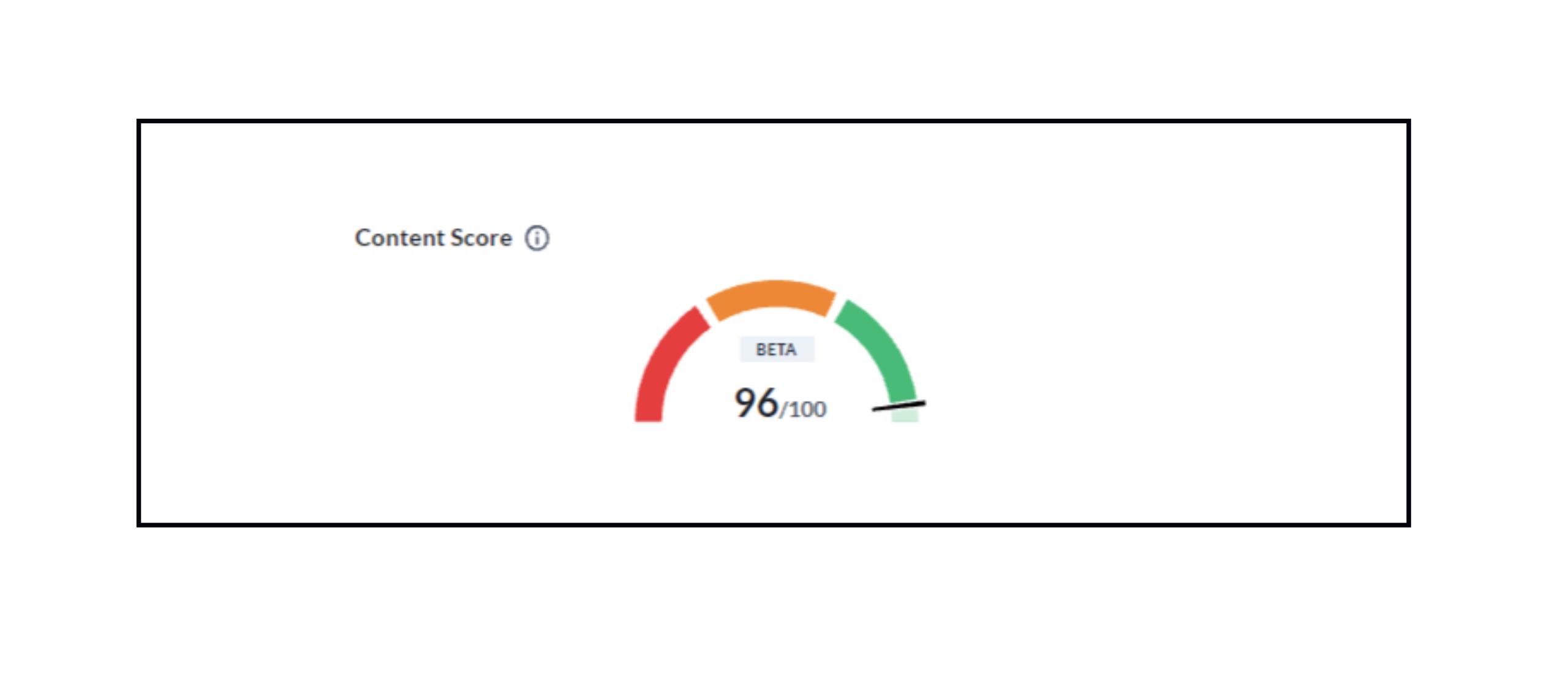 Gegarandeerd een sterkere SEO positie in Google met onze unieke content score