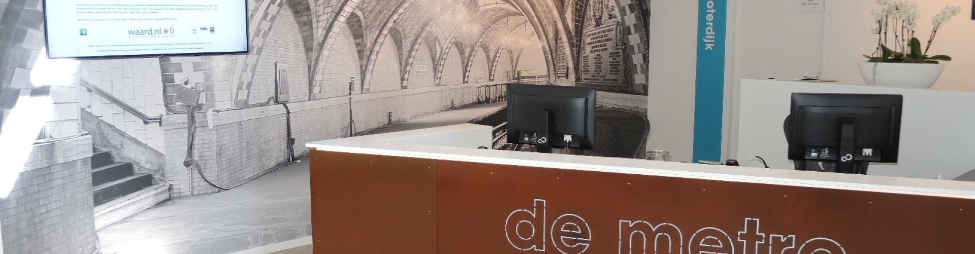 bedrijvenverzamelgebouw de metro in Franeker