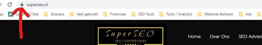 Een veilige website is cruciaal bij voice search.