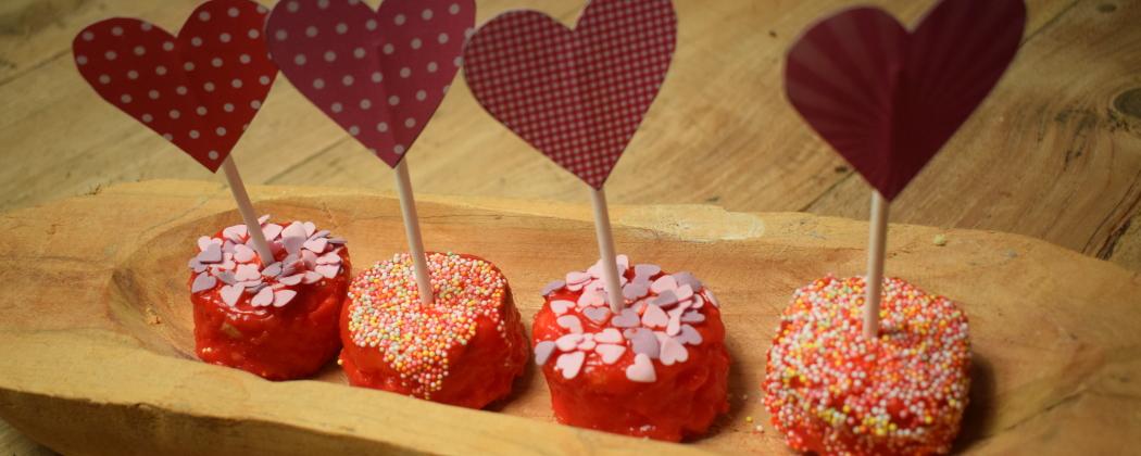 Lekkere traktaties voor Valentijnsdag