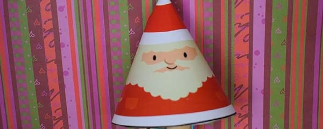 Hanger van de Kerstman  knutselen