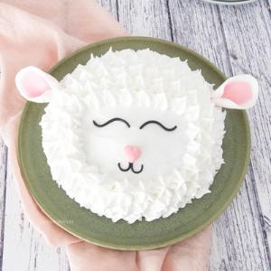 lente kinderfeestje taart