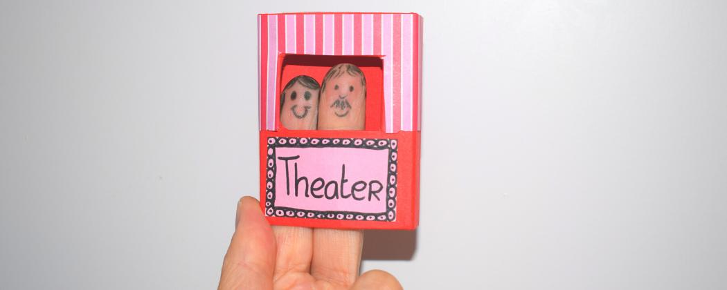 Een mini-theater knutselen