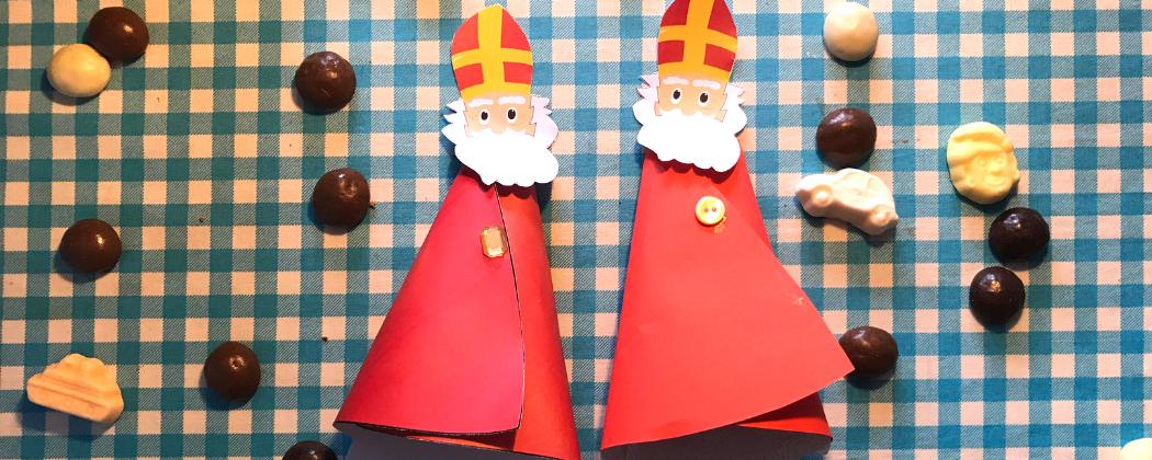 Sinterklaas traktatie maken