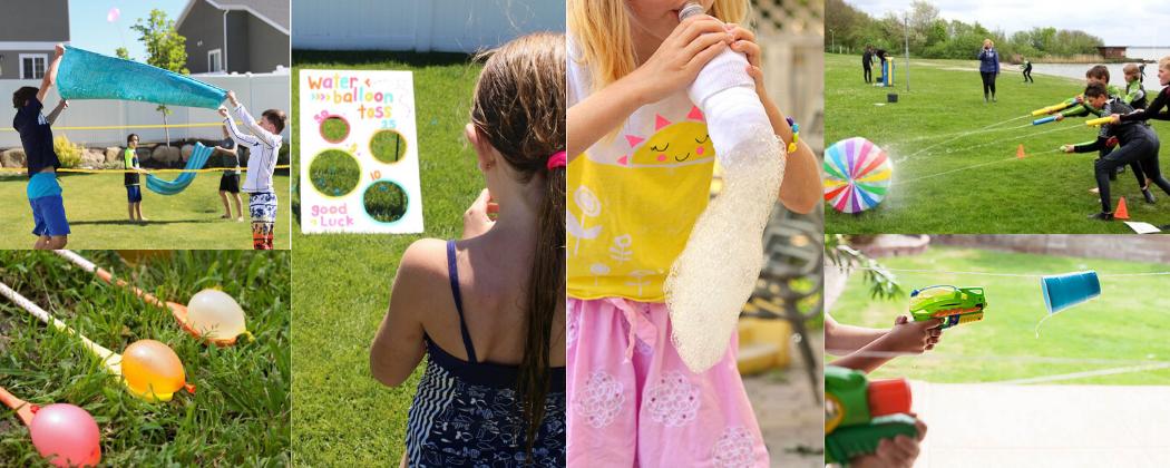 De leukste waterspelletjes voor je kinderfeestje in de zomer