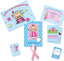 prinsessenfeestje themapakket