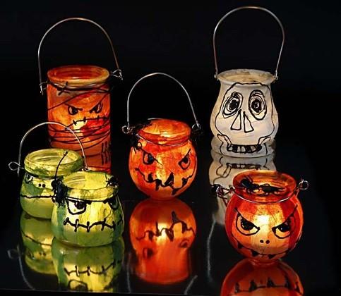 Halloween knutselen for Halloween versiering maken