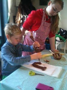 chocoladeletter maken