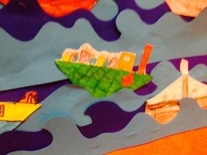 Sinterklaas knutselen pakjesboot