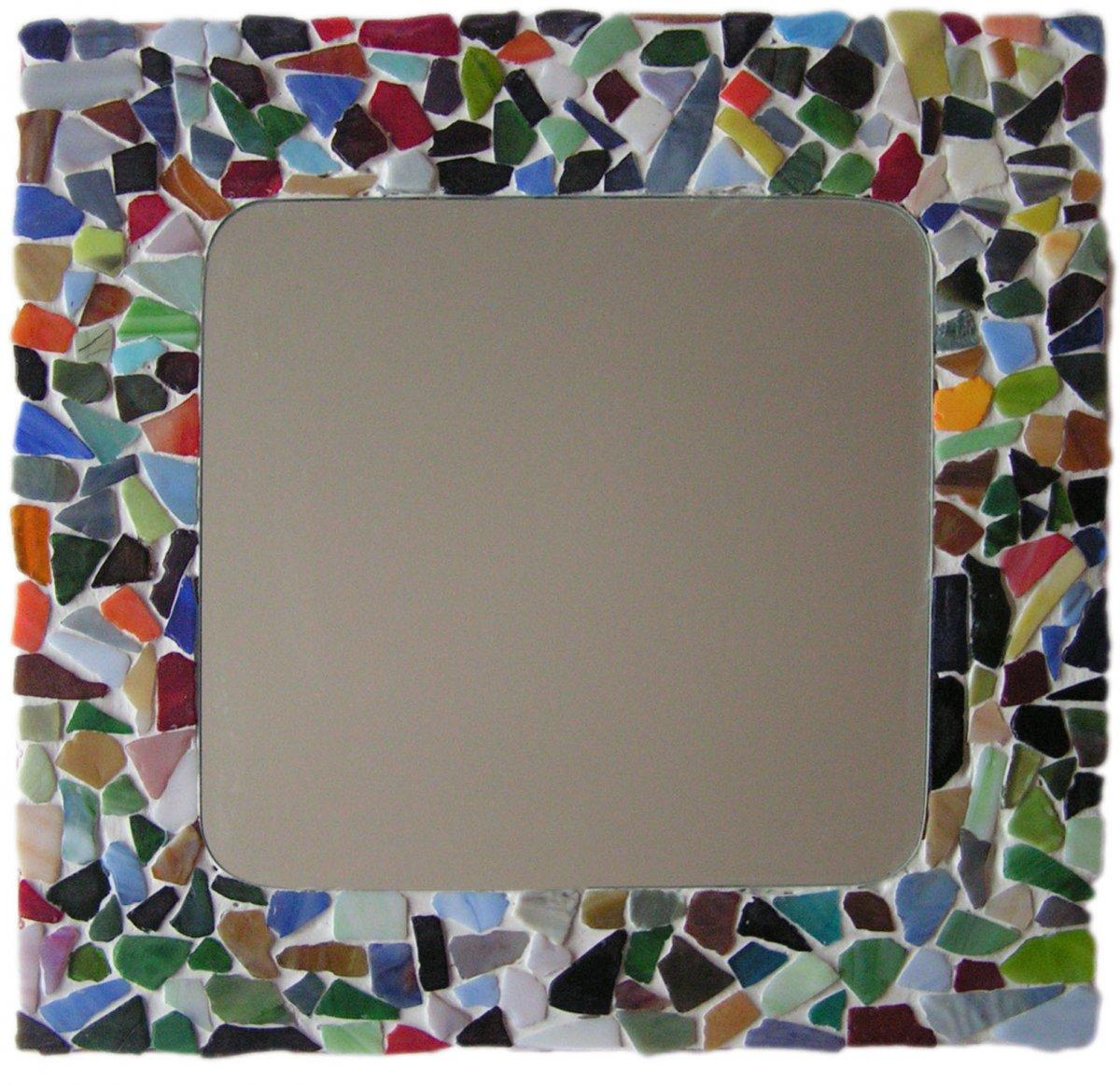 een spiegel mozaieken