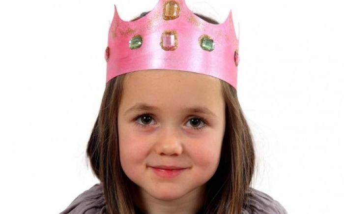 knutselen op je prinsessenfeestje