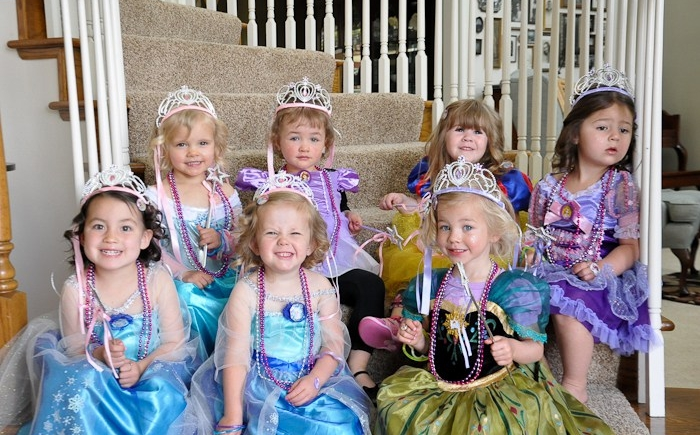 een speurtocht voor je prinsessenfeestje