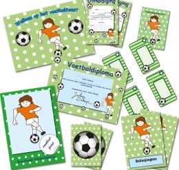 voetbalfeestje themapakket