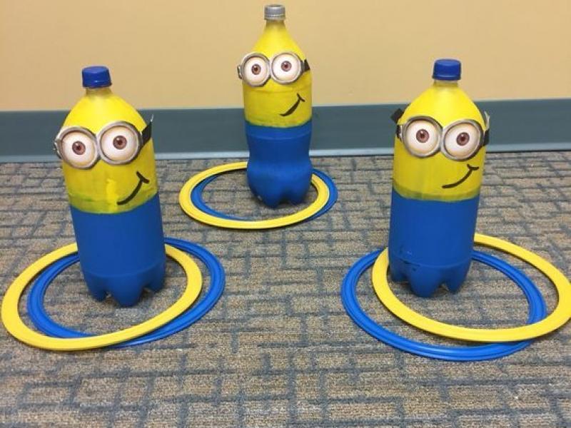 Spelletjes voor een Minions feestje