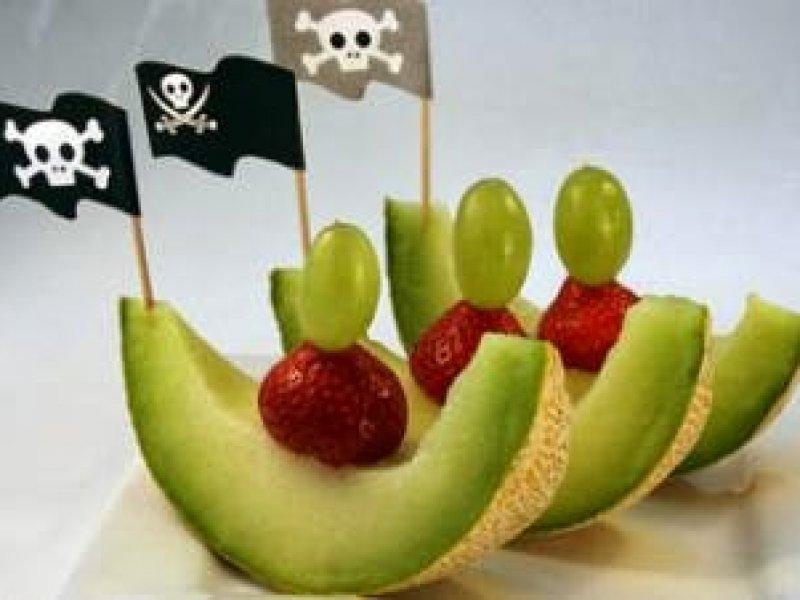 Meloenbootjes