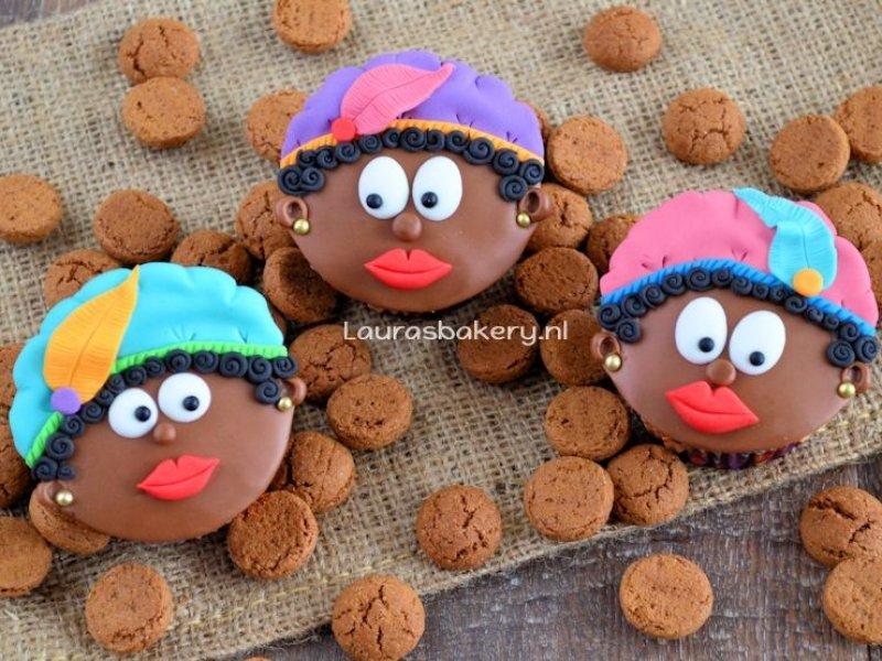 Cupcakes maken op een Sinterklaas feestje