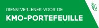 Geregistreerd dienstverlener KMO Portefeuille Logo
