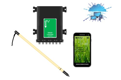 Soil Redox probes upcoming products: soil ph probe, data logger, smartphone app, data cloud services | SWAP instruments