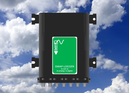 Telemetric logger for atmosphere research: SDI-12, analog and digital inputs | SWAP instruments