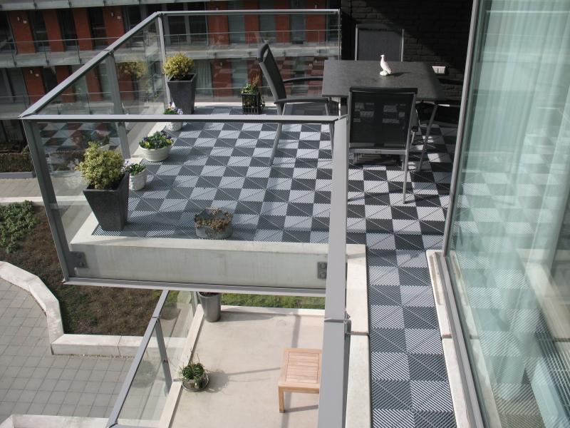 Ribdeck antislip balkontegels