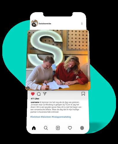 instagram personaliseren